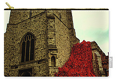 Flowing Poppies Carry-all Pouch