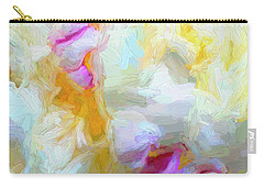 Fluffy Peony Carry-all Pouch