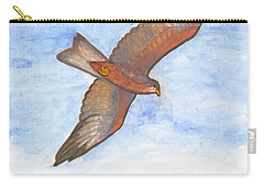 Flying Hawk Carry-all Pouch