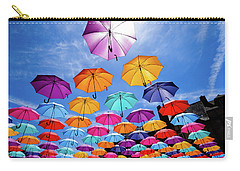 Flying Umbrellas II Carry-all Pouch