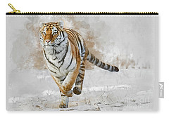 Carry-all Pouch featuring the photograph Focus by Brad Allen Fine Art