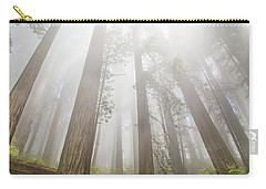 Fog In The Redwoods Carry-all Pouch