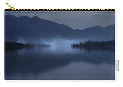 Fog On The Dark Mountain Lake Carry-all Pouch