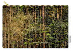 Forest Dogwood Carry-all Pouch