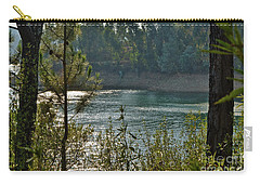 Forest Lake In Amendoa Carry-all Pouch
