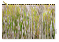 Carry-all Pouch featuring the photograph Forest Twist And Turns In Motion by James BO Insogna