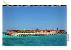 Carry-all Pouch featuring the photograph Fort Jefferson, Dry Tortugas National Park by Kay Brewer