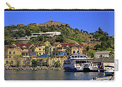 Carry-all Pouch featuring the photograph Fort St Louis by Tony Murtagh
