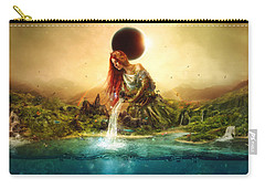 Fountain Of Eternity Carry-all Pouch
