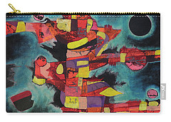 Fractured Fire Carry-all Pouch