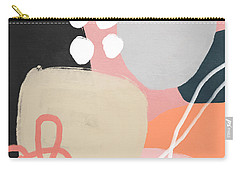 Fragments 1- Art By Linda Woods Carry-all Pouch