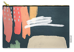 Fragments 2- Art By Linda Woods Carry-all Pouch