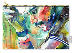 Freddie Mercury With Cigarette Carry-all Pouch