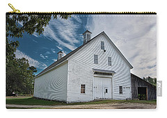 Carry-all Pouch featuring the photograph Freeport Barn by Guy Whiteley