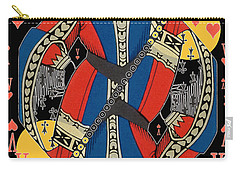 French Playing Card - Lahire, Valet De Coeur, Jack Of Hearts Pop Art - #2 Carry-all Pouch