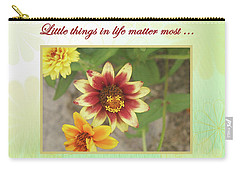 Friendship, A Smiling Indian Blanket Flower  Carry-all Pouch
