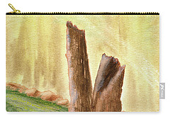 From Ruins Comes New Life Carry-all Pouch