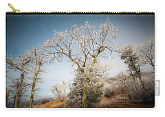 Frost On The Mountain Carry-all Pouch