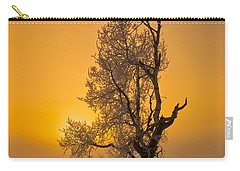 Frosted Tree Carry-all Pouch