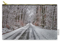 Frozen Road Carry-all Pouch