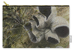 Fungi And Algae Carry-all Pouch