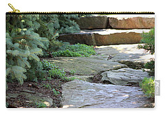 Garden Landscape - Stone Stairs Carry-all Pouch