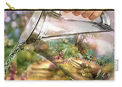 Garden Reflections Carry-all Pouch
