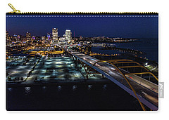 Carry-all Pouch featuring the photograph Gateway To Milwaukee by Randy Scherkenbach