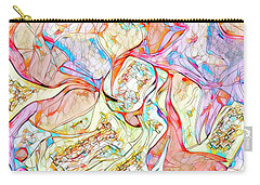 Carry-all Pouch featuring the digital art Gene Therapy by Mike Braun