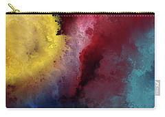 Carry-all Pouch featuring the painting Genesis 1 3. Let There Be Light by Mark Lawrence