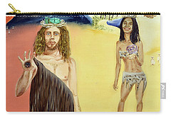 Carry-all Pouch featuring the painting Genesis by Ryan Demaree