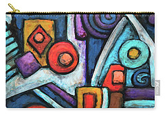 Geometric Abstract 4 Carry-all Pouch