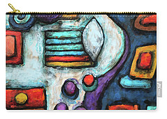 Geometric Abstract 5 Carry-all Pouch