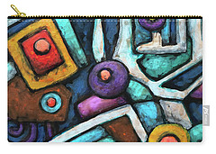 Geometric Abstract 6 Carry-all Pouch