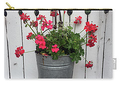 Geranium Gate Carry-all Pouch