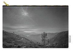 Carry-all Pouch featuring the photograph Geres - One Tree by Bruno Rosa