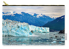 Glacier Calving Alaska  Carry-all Pouch