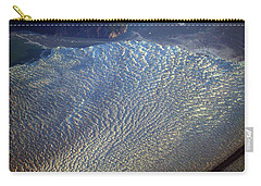 Glacier Texture Carry-all Pouch