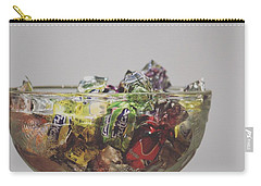 Glass Bowl Of Candies Carry-all Pouch