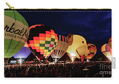 Carry-all Pouch featuring the photograph Glow by Brad Allen Fine Art