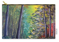 Glowing Forrest Carry-all Pouch