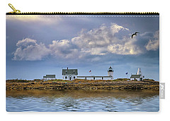 Carry-all Pouch featuring the photograph Goat Island Lighthouse by Rick Berk