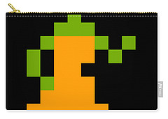 Carry-all Pouch featuring the digital art Goblin 003 Sprite by Bfm