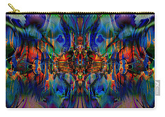 Carry-all Pouch featuring the digital art Gobsmacked by Kiki Art