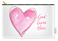 God Lives Here Carry-all Pouch