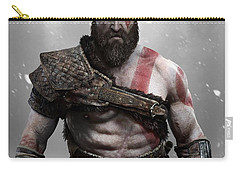 God Of War Carry-all Pouches