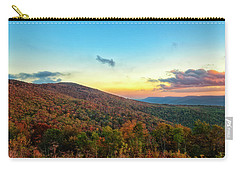 Carry-all Pouch featuring the photograph God's Canvas by Russell Pugh