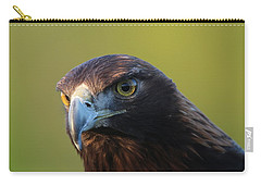 Carry-all Pouch featuring the photograph Golden Eagle 5151802 by Rick Veldman