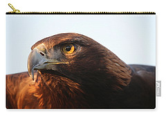 Carry-all Pouch featuring the photograph Golden Eagle 5151803 by Rick Veldman