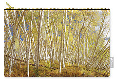Carry-all Pouch featuring the photograph Golden Forest Fantasy by James BO Insogna